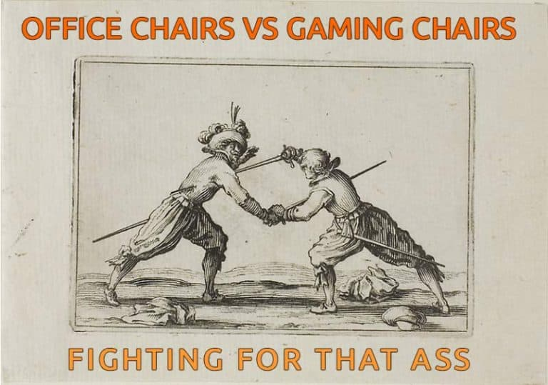 Gaming Chair VS Office Chairs