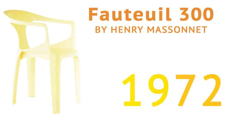 Fauteuil 300 Chair 1972