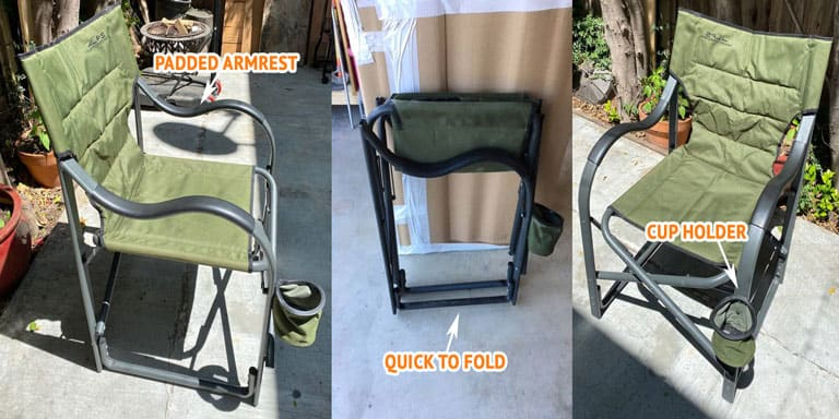 Fold-Out Camping Chair