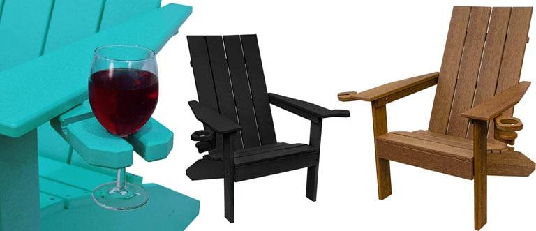 International 'Modern' Adirondack Chairs